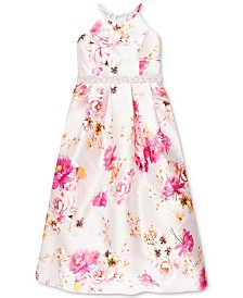 Speechless Big Girls Floral-Print Dress