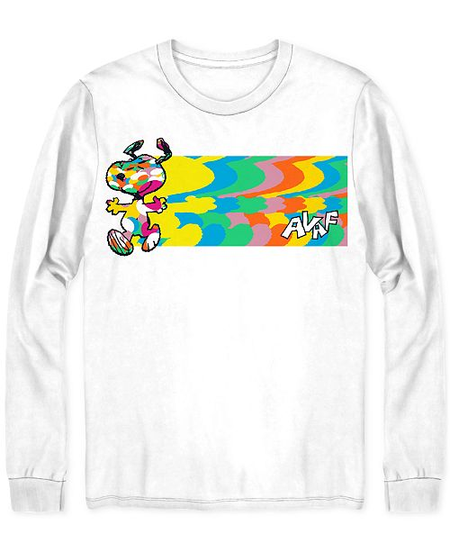 Jem Peanuts Global Artist Collective AVAF Snoopy Men's Graphic T-Shirt