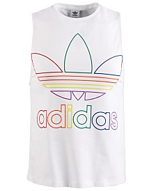 adidas Men's Outline-Logo Tank Top