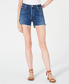 Santiago Marlow Cutoff Denim Shorts