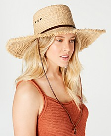 Raffia Cybil Telescope Bolero Hat