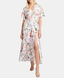 French Connection Arimose Crepe Floral-Print Maxi Dress