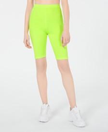 Waisted Biker Shorts
