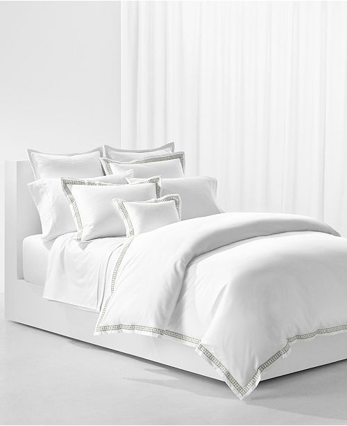 Lauren Ralph Lauren Spencer King Embroidered Duvet