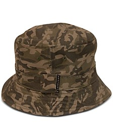 Men's Washed Camo Bucket Hat, Created for Macy's
