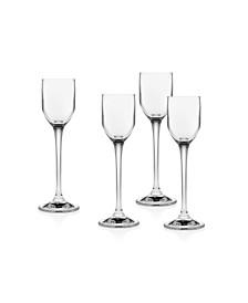 Godinger Pivot Liquor Glasses - Set of 4