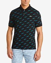 334460d476 Lacoste Men's L!VE Ultra-Slim Fit Logo Polo