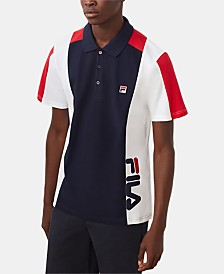 Fila Men's Apache Logo Polo