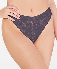 Flower-Lace High-Cut Ballet Bikini Underwear BALLE0561, Online Only
