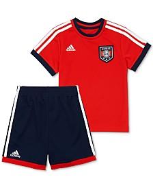 adidas Baby Boys 2-Pc. Soccer T-Shirt & Shorts Set