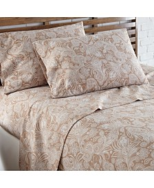 Southshore Fine Linens Perfect Paisley deep, Pocket Boho Sheet Set, King