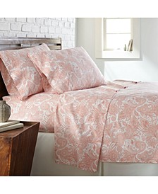 Boho Paisley 4-piece Sheet Set
