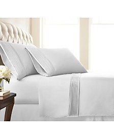 "Southshore Fine Linens Classy Pleated 21"" Extra deep, Pocket Sheet Set, Queen"