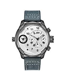 Men's G3 Diamond (1/6 ct.t.w.) Gun Metal-Plated Stainless Steel Watch
