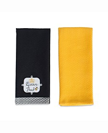 Queen Bee Ebb Dishtowel Set of 2