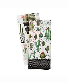 Asset Urban Oasis Print Dishtowel Set of 2