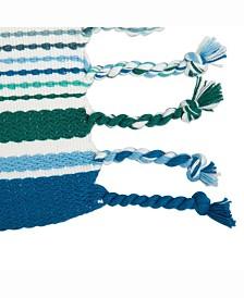 Tidal Stripe Fringed Placemat Set of 6