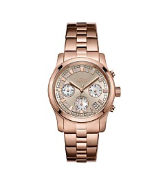 JBW Women's Alessandra Diamond (1/5 ct.t.w.) 18K Rose Gold Plated Stainless Steel Watch