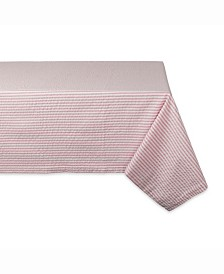 "Rose Seersucker Table cloth 60"" X 84"""