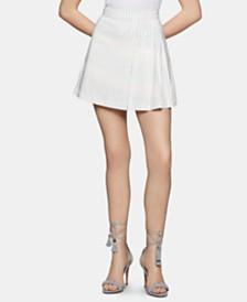 BCBGeneration Striped A-Line Mini Skirt