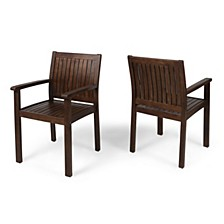 Wilson Outdoor Dining Chair, Set of 2