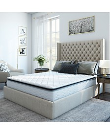 "Sleep Trends Davy 10"" Wrapped Coil Pillowtop Firm Mattress, Mattress in a Box - Queen"