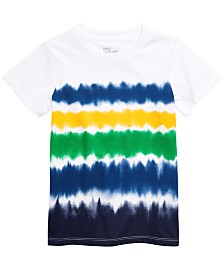 Epic Threads Toddler Boys Ombré Stripe T-Shirt, Created for Macy's