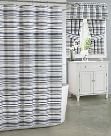 J Queen New York Aedan Extra Long Shower Curtain