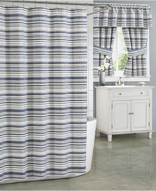 J Queen New York Aedan Extra Long Shower Curtain