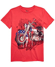 Epic Threads Big Boys Motorcycle T-Shirt, Created for Macy's