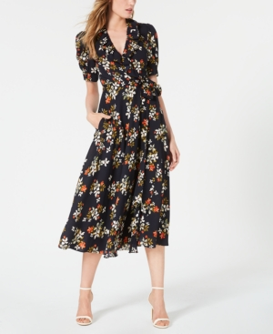 Jill Jill Stuart Dresses FLORAL-PRINT WRAP DRESS