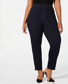 Sound/Style Lucy Plus Size Denim Jeggings