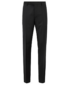 BOSS Men's T-Glover3 LC Slim-Fit Formal Wool Trousers