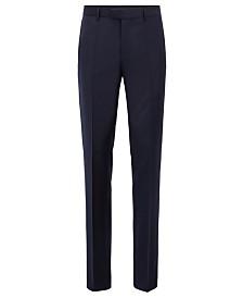 BOSS Men's T-Glover3 LC Slim-Fit Formal Wool Trousers