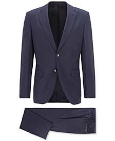 BOSS Men's Johnsons5/Lenon1 Regular-Fit Wool Suit