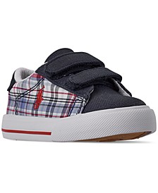 Toddler Boys Eastern II EZ Plaid Stay-Put Casual Sneakers from Finish Line