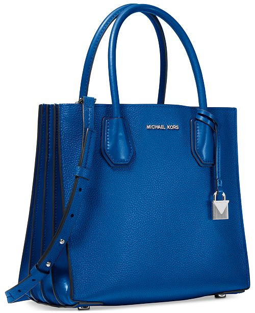 Michael Kors Mercer Small Leather Accordion Tote