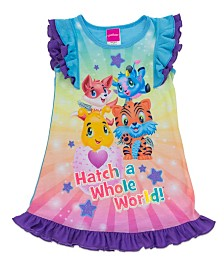 Hatchimals Little and Big Girls Dorm Nightgown