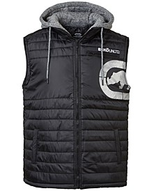 Men's Diamond Quilted Hooded Vest
