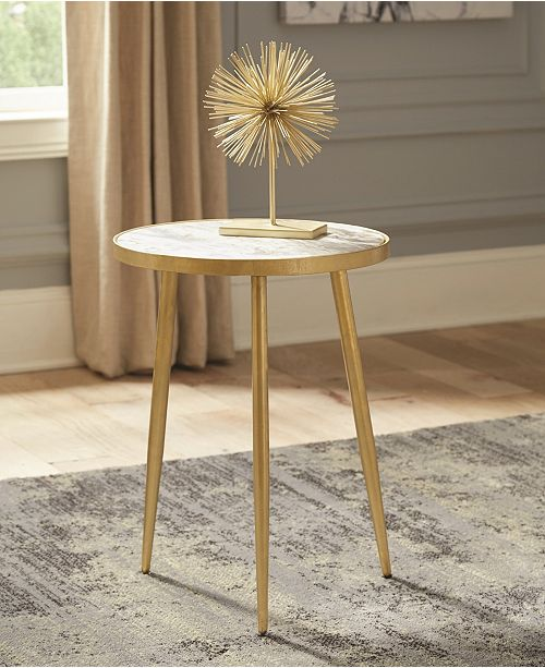 Coaster Home Furnishings Tillamook Round Accent Table