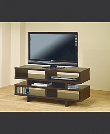 Chad TV Console with 5 Open Storage Compartments