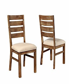 Barnaby Solid Wood Side Chairs (Set of 2)