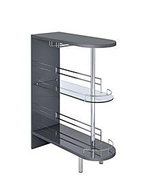Anibal 2-Shelf Bar Table