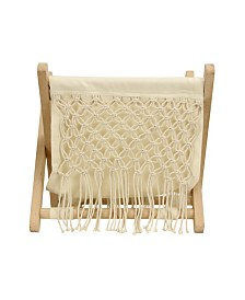 Macrame Storage Rack