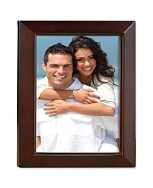 "Lawrence Frames Walnut Wood Picture Frame - Estero Collection - 8"" x 10"""
