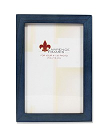 """Blue Wood Picture Frame - Gallery Collection - 4"""" x 6"""""""