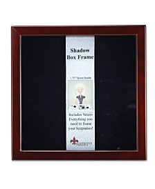 "Lawrence Frames 790188 Espresso Wood Shadow Box Picture Frame - 8"" x 8"""