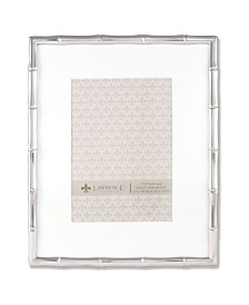 "Lawrence Frames 710180 Silver Metal Bamboo 8x10 Matted For Picture Frame - 5"" x 7"""