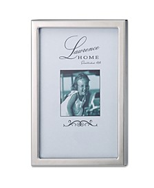 """710646 Silver Standard Metal Picture Frame - 4"""" x 6"""""""