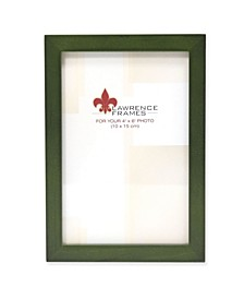 """Green Wood Picture Frame - Gallery Collection - 4"""" x 6"""""""